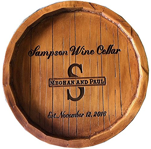 Lazy Susan is Created from a Wine Barrel that was Made by Artist Al Pisano
