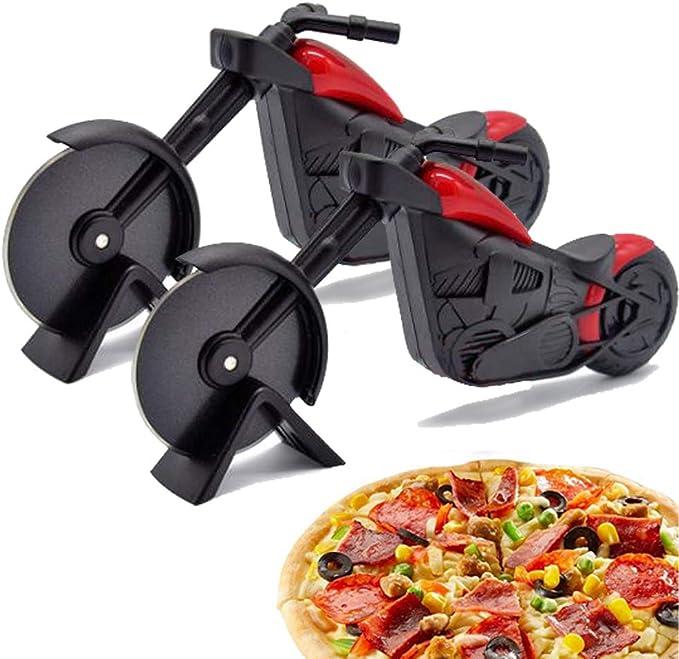 Compra WENTS Motocicleta Cortador de Pizza Cuchillo de Rueda de ...
