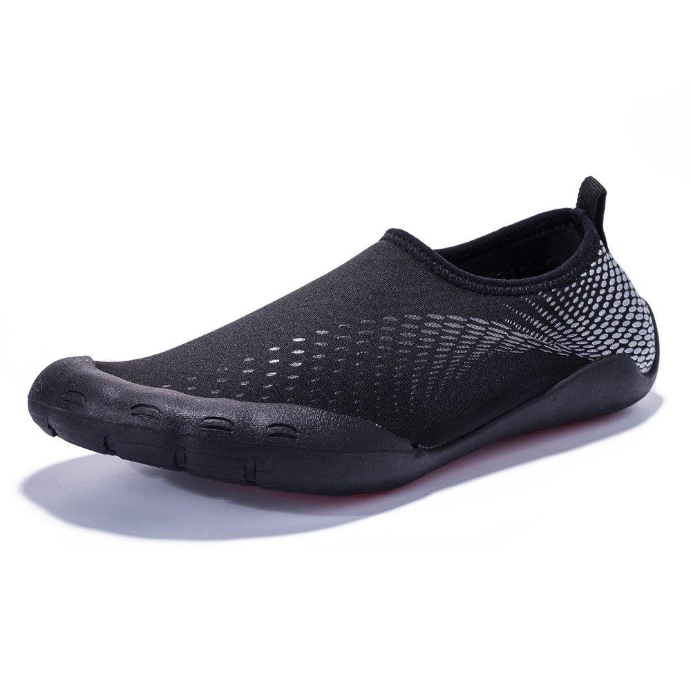 Coleath Men Quick-Dry Water Shoes Barefoot Aqua Socks Light Sport for Swim Surf Yoga