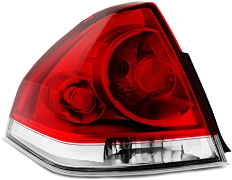 GM2801193 25971598 Right Passenger Side RH Epic Lighting OE Fitment Replacement Rear Brake Tail Light Assembly for 2006-2016 Chevrolet Impala