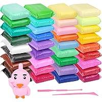 Arcilla de secado al aire de 36 colores