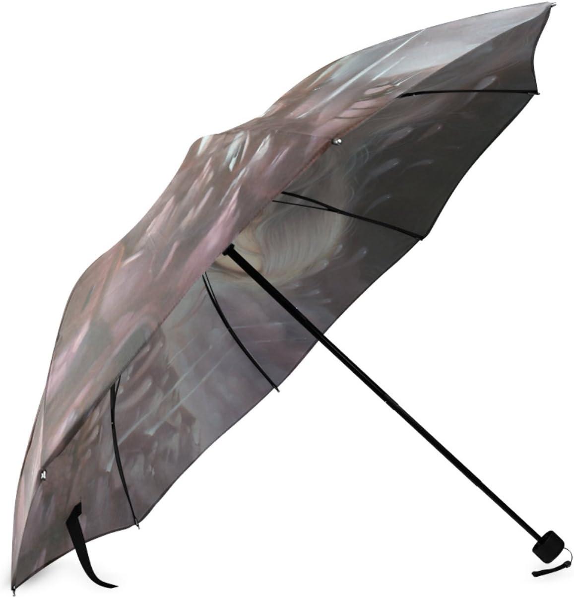 Personalized Illumine Foldable Umbrella Travel Umbrella