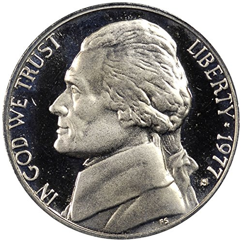 1977 S Proof Clad Jefferson Nickel PF1