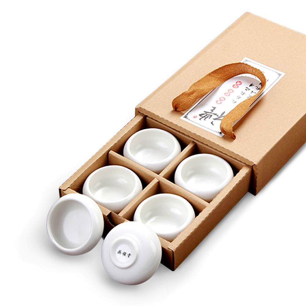 Taza, diseño japonés, color negro, blanco y cian, Vajilla, Blanco