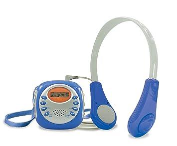 Idena 6800801 - kids - music - MP3 player with Headphone, portable ...