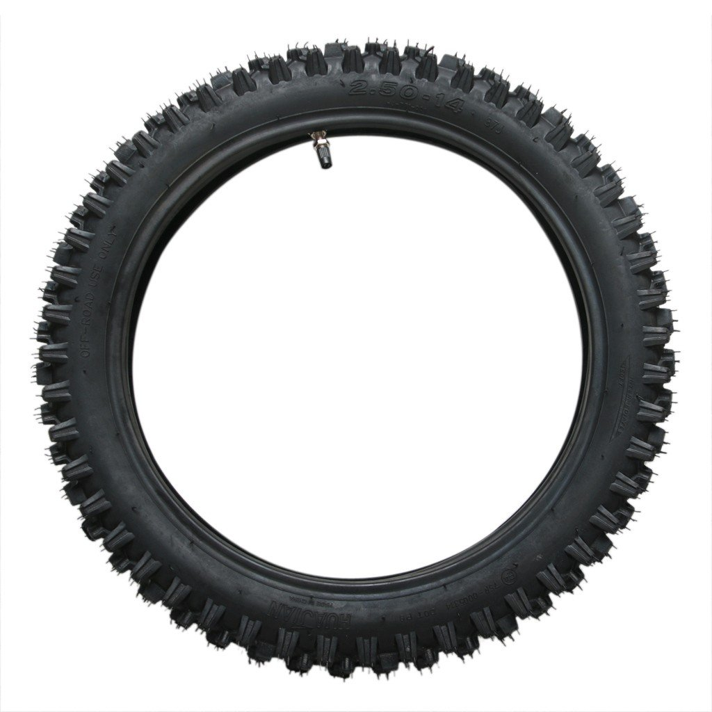 60/100-14 2.50-14 14'' Inch Front Tire +Tube FOR PIT PRO Trail Dirt Bike 50cc-200cc