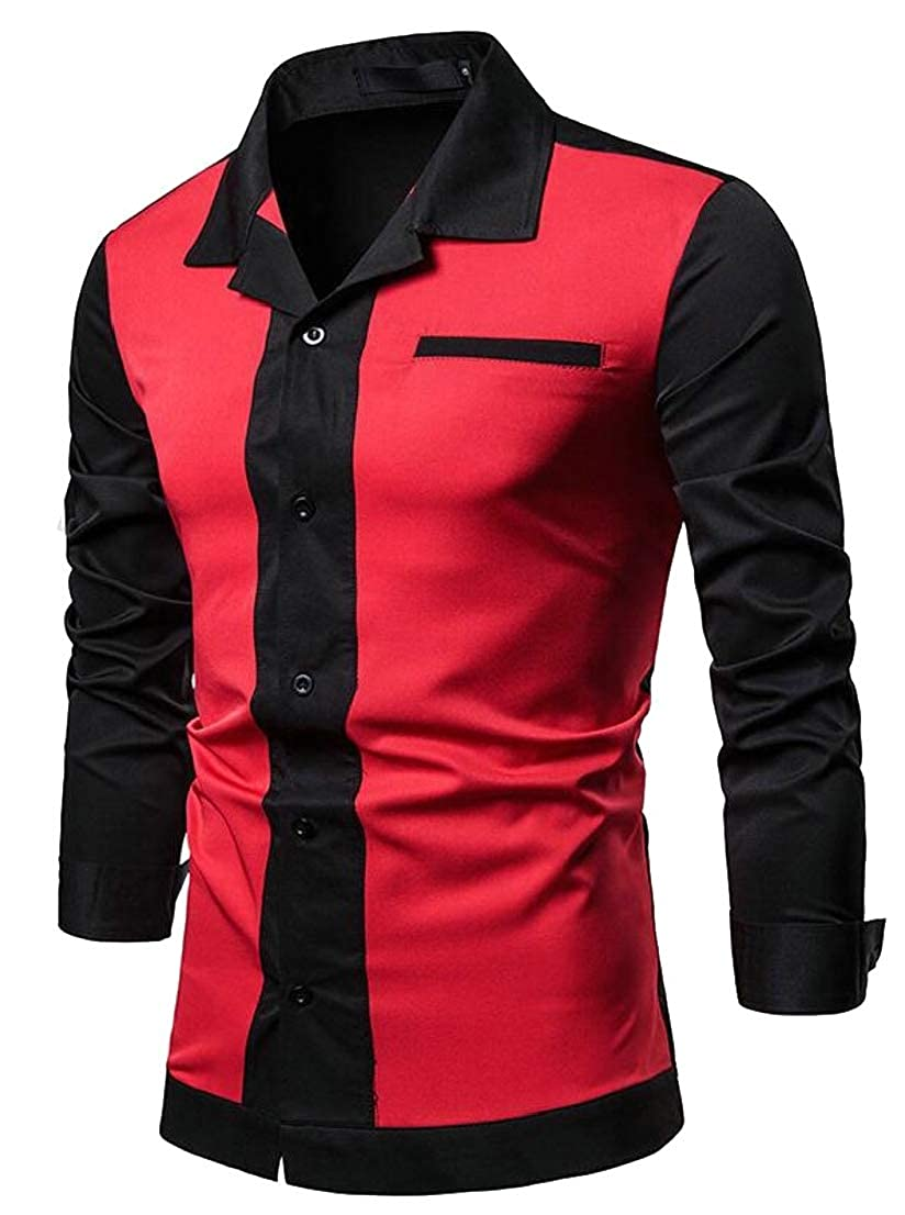 Generic Mens American Style Vintage Western Hip Hop Shirts Party Wear