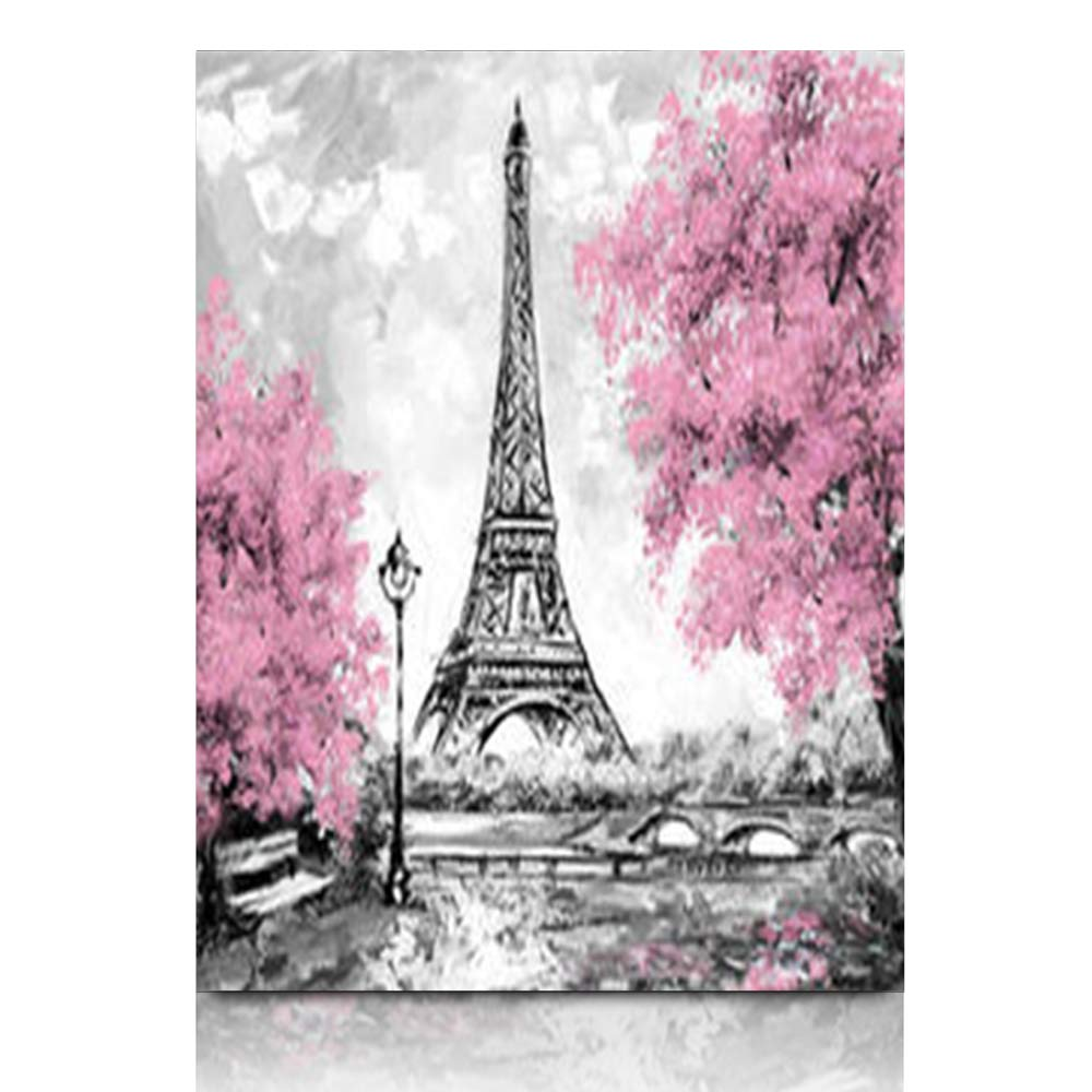 Amazon com armko canvas wall art prints vibrant paris european city