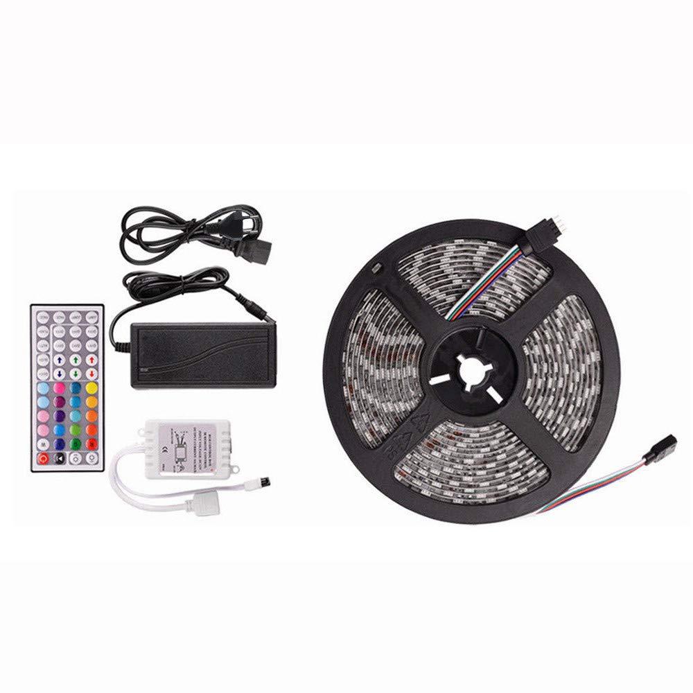 10M RGB 5050 300 Led SMD Flexible Light Strip Lamp+44 Key IR Remote Controller