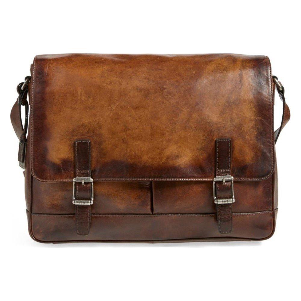 (フライ) FRYE メンズ バッグ メッセンジャーバッグ 'Oliver' Leather Messenger Bag [並行輸入品] B078JR27ZT