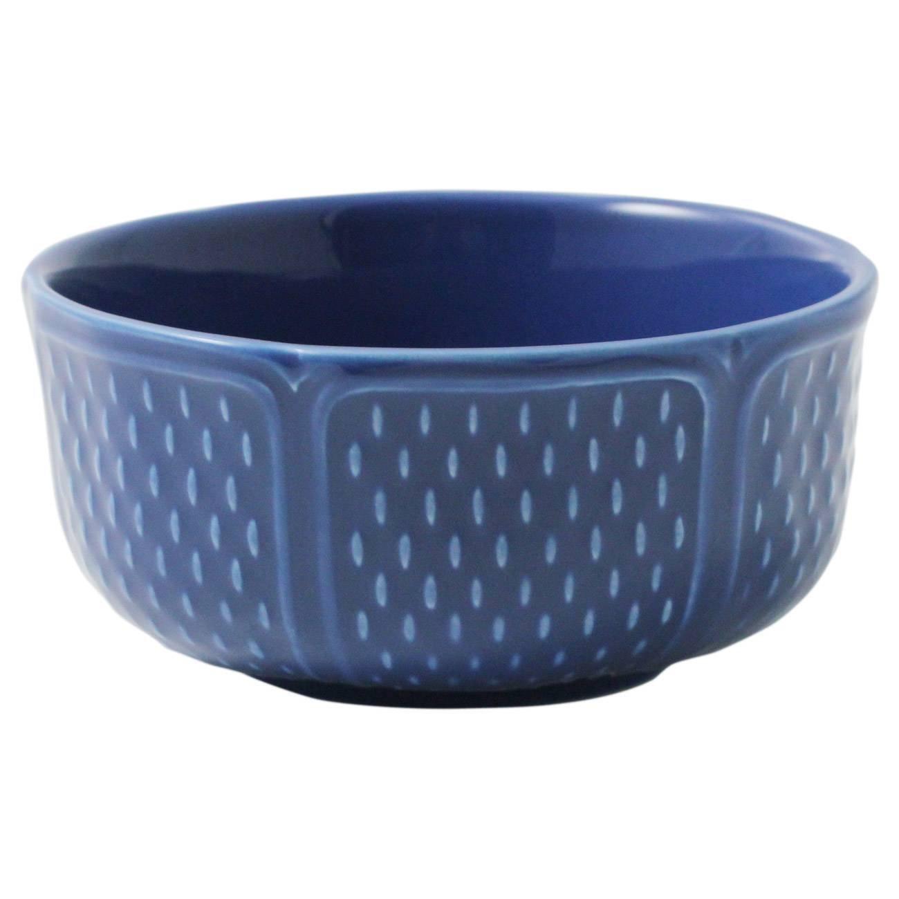 Gien Pont Aux Choux Bleu Cereal Bowl, Set of 4
