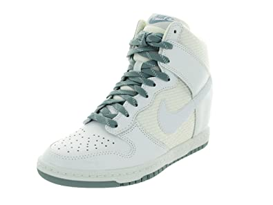 free shipping 621fc f361f basket nike dunk sky high blanc