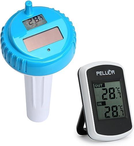 term/ómetro para piscinas exteriores e interiores Millster Term/ómetro de agua para piscina term/ómetro flotante