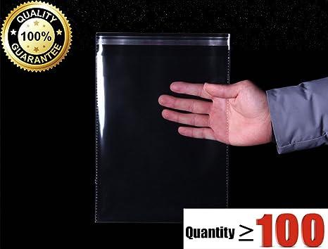 Amazon.com: Fuerte Poly Bolsas Transparentes 100-Pack, tipos ...