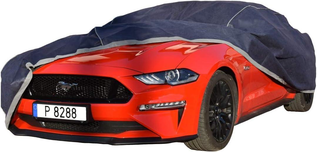 WSJ wasserdichte atmungsaktive Nano-Abdeckung Kompatibel mit Ford Mustang//Mustang GT Allwetterautoschutz Mobile Garage Au/ßenverkleidung Schneesicher Staubdicht W/ärmed/ämmung Autoschutz