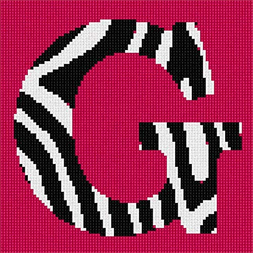 Zebra Needlepoint (Pepita G Zebra Needlepoint Canvas)