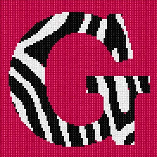 Needlepoint Zebra (Pepita G Zebra Needlepoint Canvas)