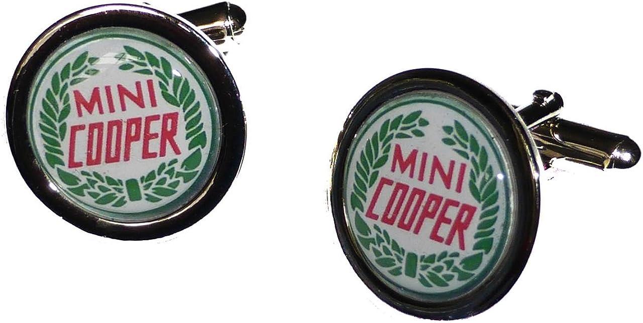 Mini Cooper Badge Boutons de manchette