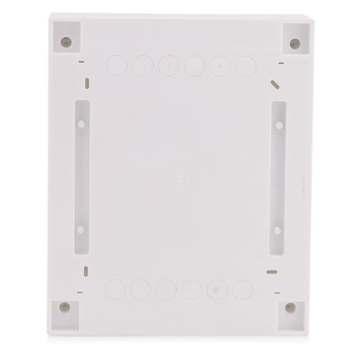 Sicherungskasten Aufputz 3-reihig f/ür 54 Module mit DIN Schiene AP-Verteiler IP40 wei/ße T/ür f/ür die Trockenraum Installation im Eigenheim