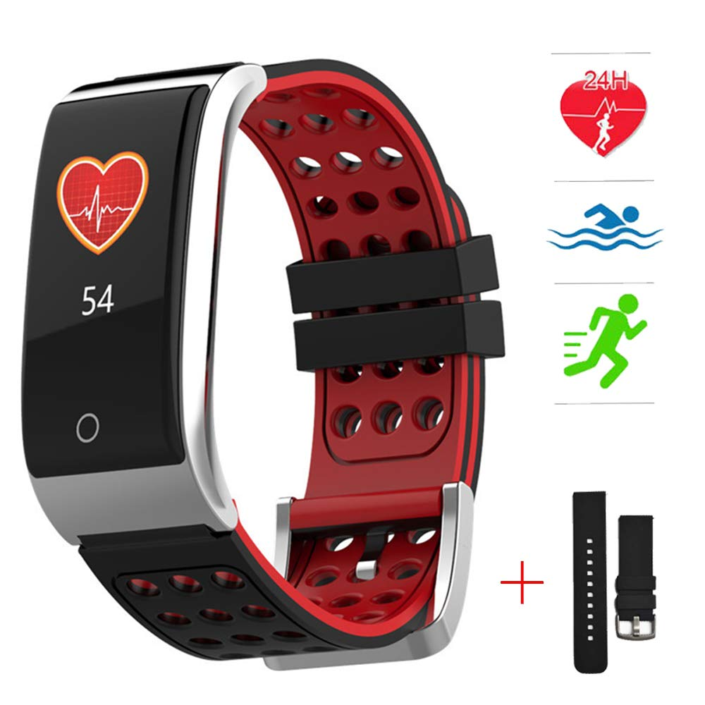 Amazon.com : Health Smart Watch Fitness Tracker Heart Rate ...