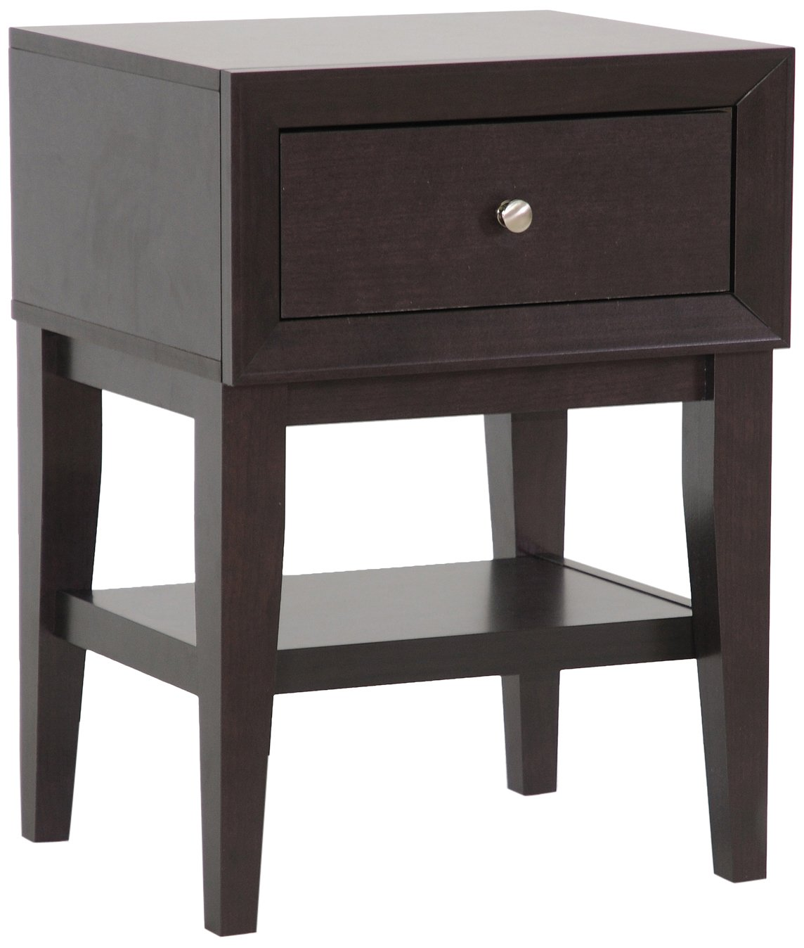 Baxton Studio Gaston Modern Accent Table and Nightstand, Brown Wholesale Interiors ST-007-AT