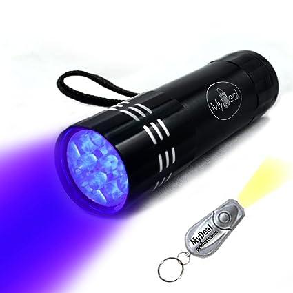 Amazon Com Mydeal Visiroom Uv Ultraviolet 9 Led Blacklight Pocket