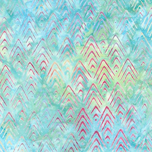 Robert Kaufman Artisan Batiks To The Point Rainbow Arrowhead Bargello Rainbow Batiks