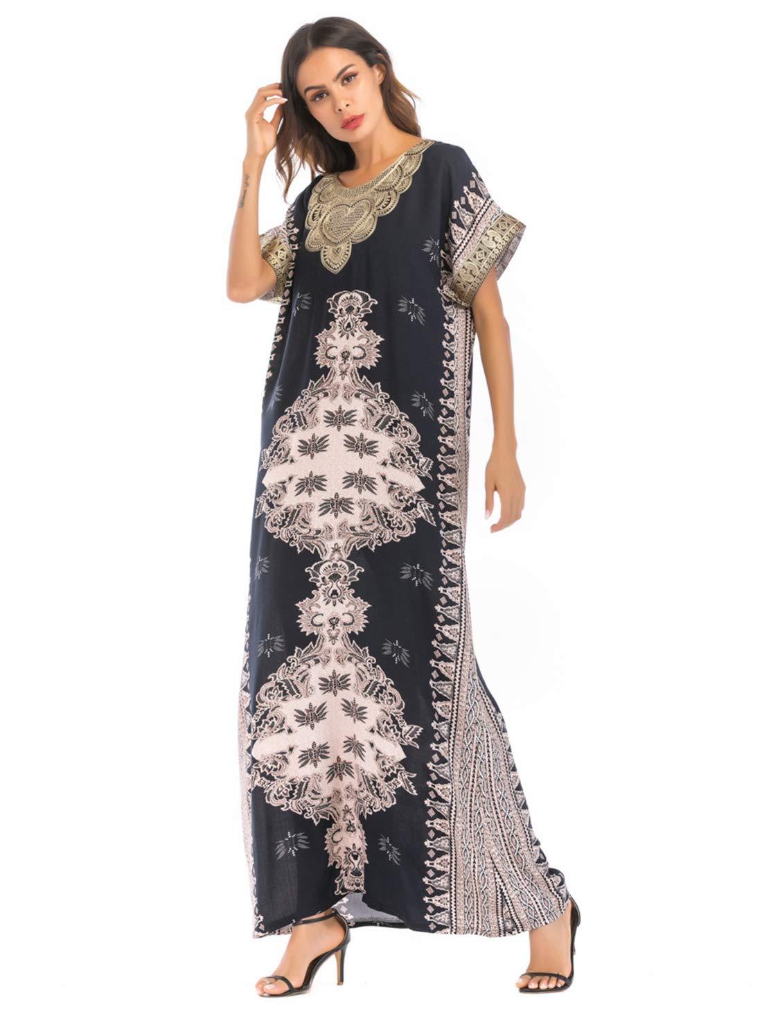 21d76ee755f9f Amazon.com  LIUMM Women s Embroidery Printing Dresses