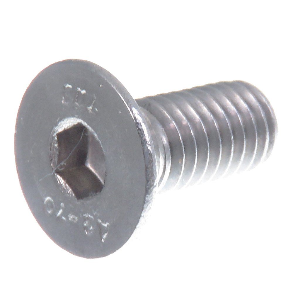 acero inoxidable V2A VA A2 20 piezas DIN 7991 // ISO 10642 SECCARO Tornillo avellanado M6 x 14 mm hex/ágono interior