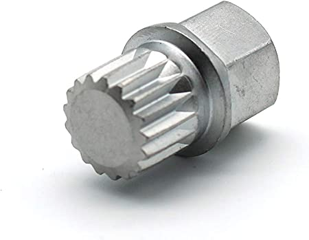 Fits 6 Spline Drive Lugs US New 10pcs Spline Lug Nut Tool Key