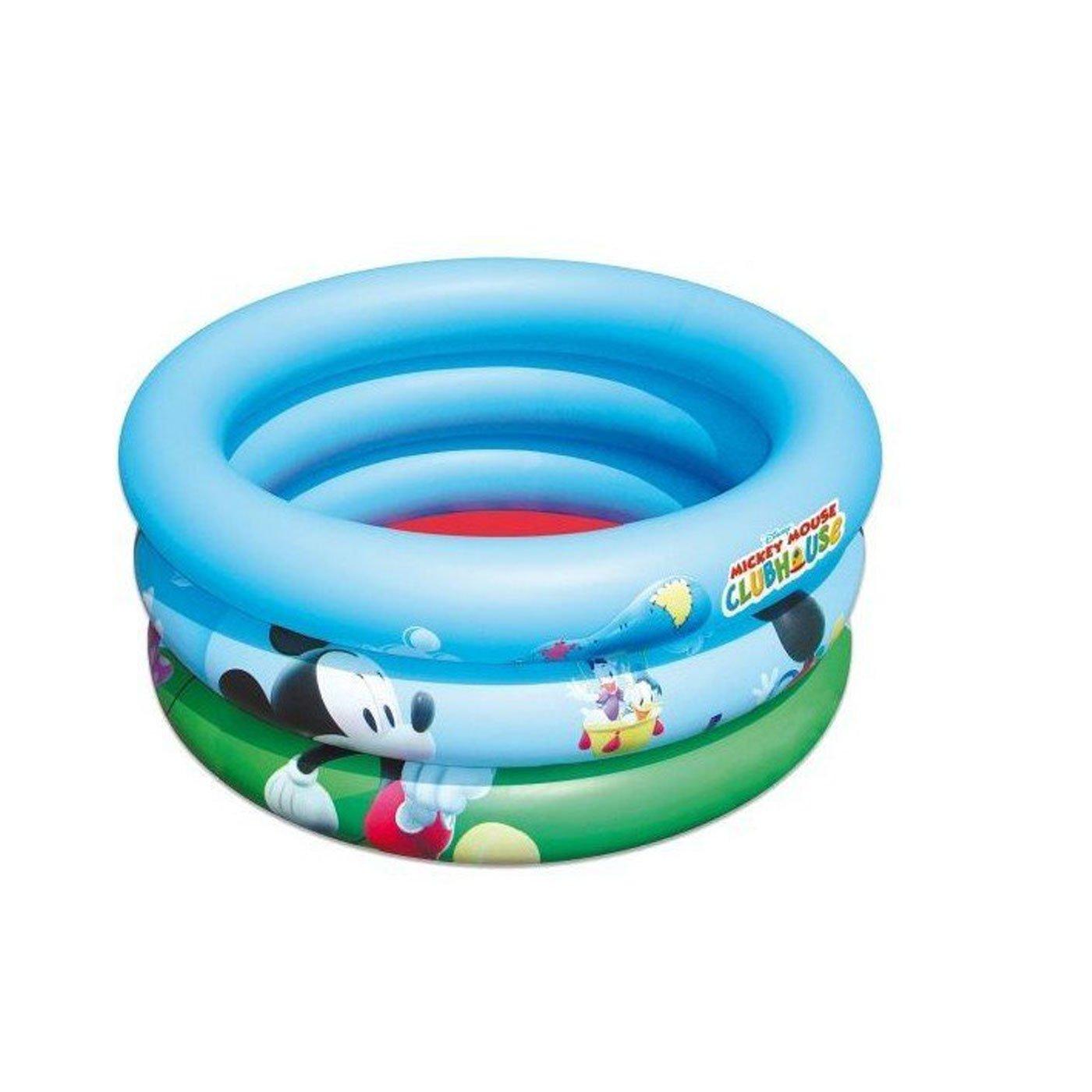 Piscina Hinchable Infantil Mickey Mouse 30 x 70 cm - Disney: Amazon.es: Juguetes y juegos
