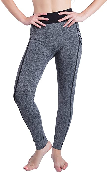 c6e058538bf959 URIBAKE ❤ Women's Gym Leggings Printed Elastic Yoga Patchwork Sports  Running Fitness Athletic Pants