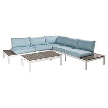 Loungemöbel Outdoor amazon de outliv loungemöbel outdoor hamilton loungeecke 4tlg alu