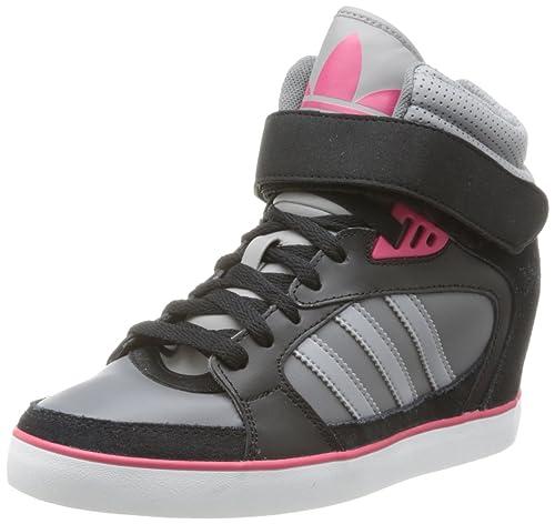 adidas Originals Amberlight UP W, Zapatillas Altas para Mujer, Negro-Schwarz (BLACK1/ALUMI), 36 EU: Amazon.es: Zapatos y complementos