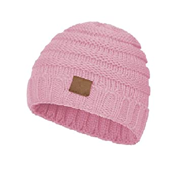 Children Winter Hat BE HAPPY Worm Kids Knitted Beanie Hats Style Girls Boys