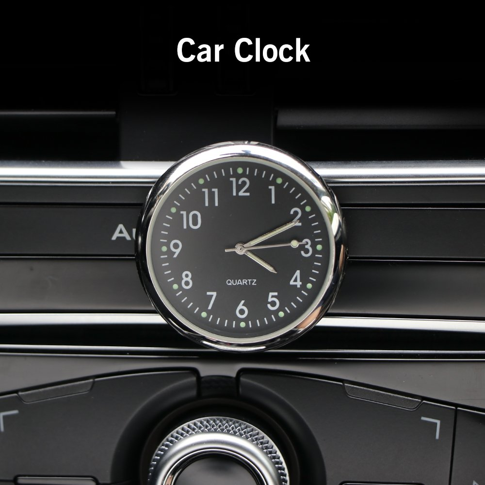 Amazon Com Aozbz Car Clock 1 6 Large Lcd Display Stick On Car