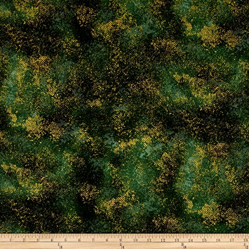 RJR Fashion Fabrics Shiny Objects Metallic Holiday Twinkle Rustic Shimmer Forest Yard