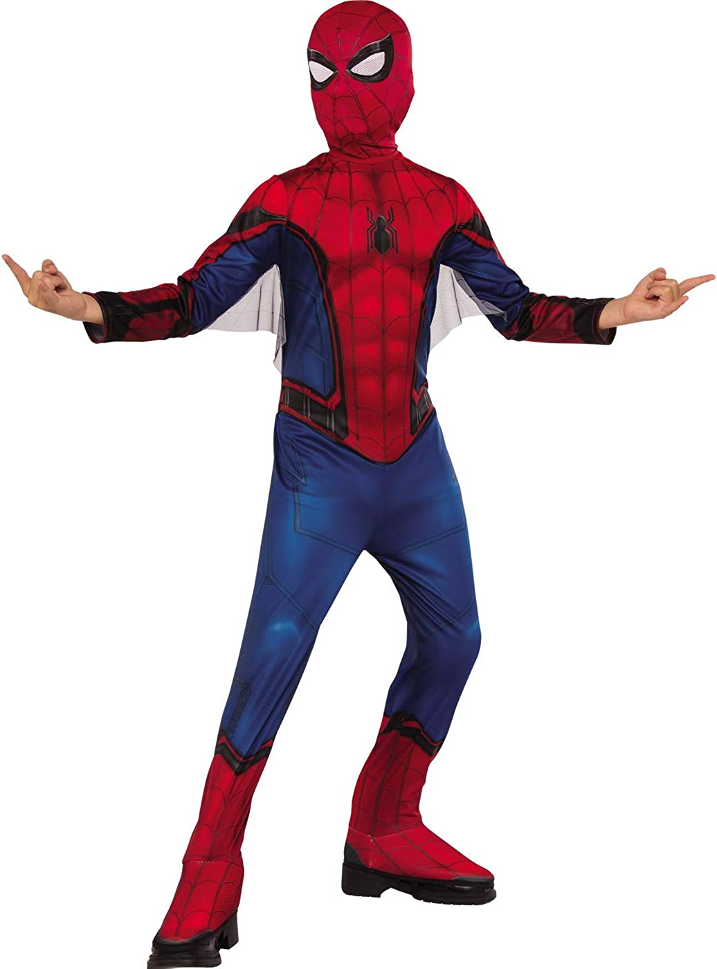 Boy's Spider-Man Far From Home Blue And Red Suit Costume Medium 8-10