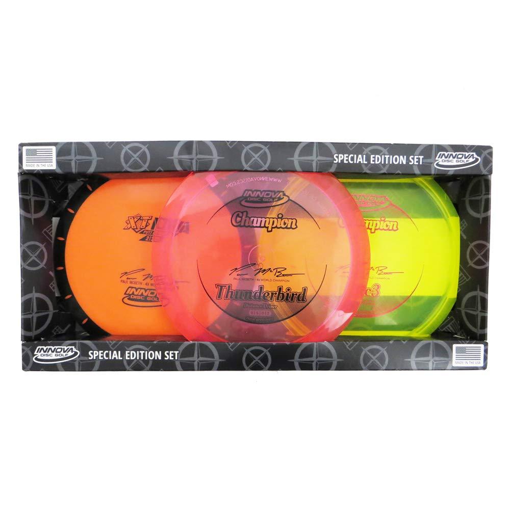 Innova Discs Special Edition Paul McBeth Signature 3-Disc Disc Golf Set by Innova Disc Golf