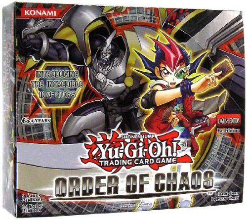 Yu-Gi-Oh! Order of Chaos Booster Box 24 Packs ()