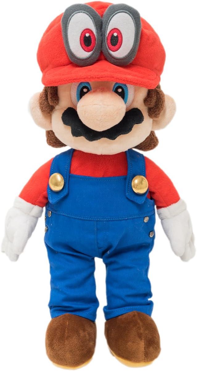 Super Mario Odyssey/Plush Doll/Mario: Amazon.es: Juguetes y juegos