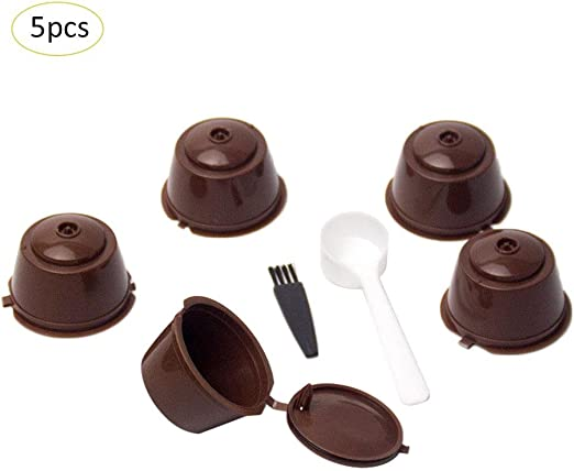 LiféUP 7 PCS Coffee Capsules Cup Set Taza de Filtro de café ...