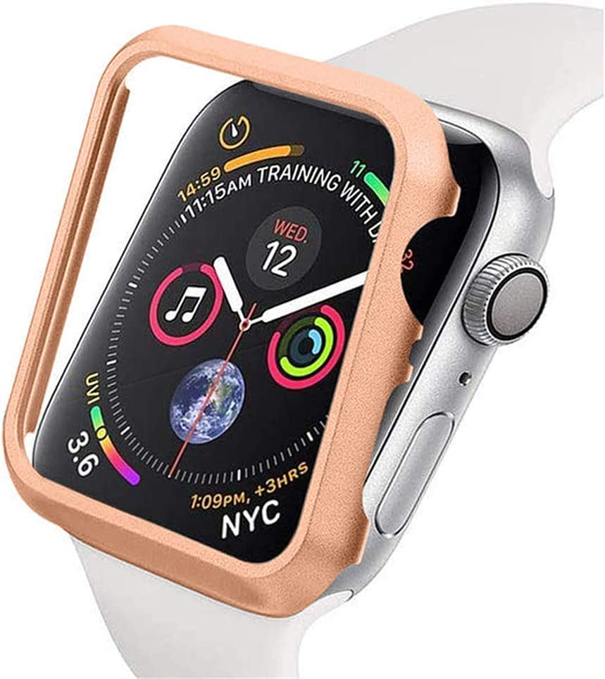 Compatible for Apple Watch Case 42mm Super Thin Bumper Protector Cover Lightweight Slim Shell Shockproof Frame Accessories Compatible for iWatch Series 3 2 1