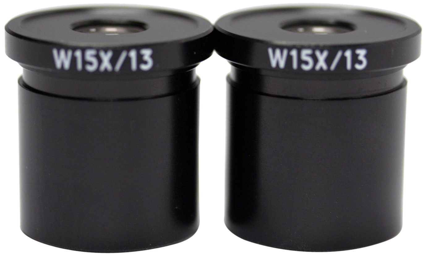 Pack of 2 Swift Optical MA10593 W15X Eyepiece For M27LED Series Tri-Power Stereo Microscope