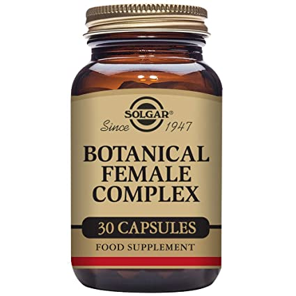 Solgar Botanical Female Complex - 30 Cápsulas