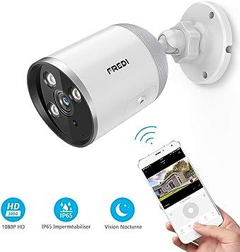 1080P Wifi IP Caméra de Surveillance Sans fil Vision HD Nuit Sécurité Extérieur