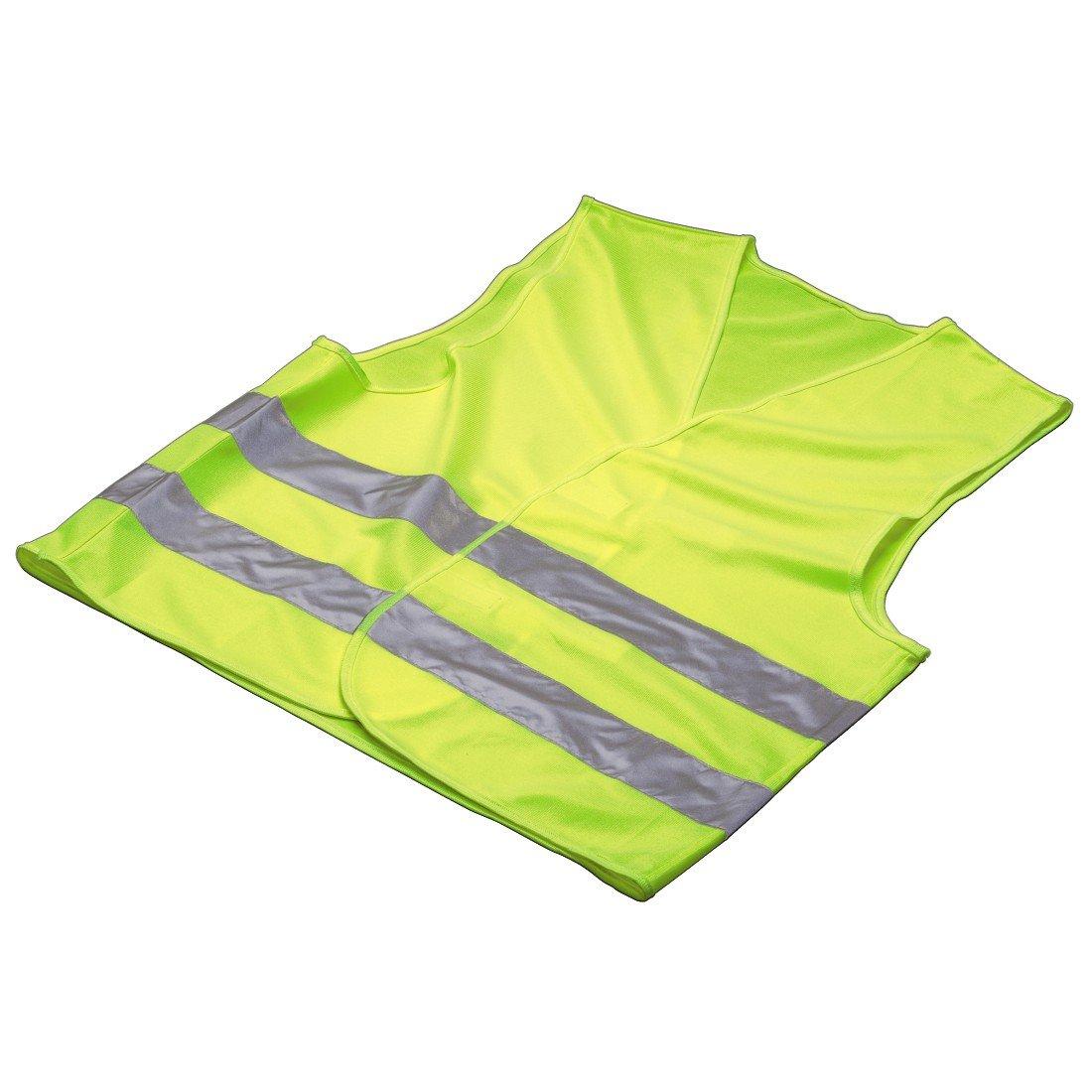 Hama Gilet de sécurité Automotive, jaune fluo 00083977