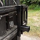 Trailer Hitch Receiver for Pallet Fork forks lift forklift skid steer (PFRH)