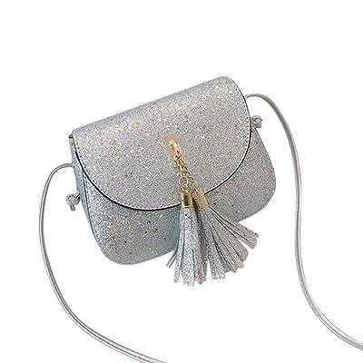 ❤️ sacs à bandoulière,Les femmes à la mode paillettes gland sac à bandoulière en cuir sac à bandoulière sac téléphone by LHWY