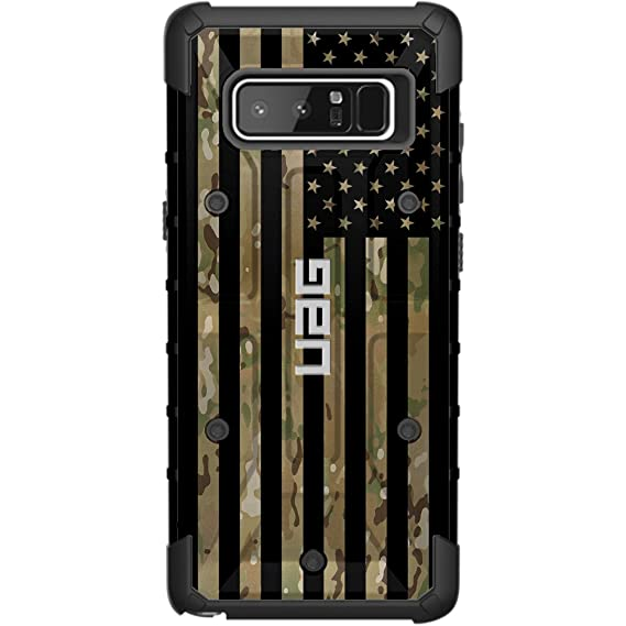 super popular 968ba 07d77 Limited Edition - Authentic UAG- Urban Armor Gear Case for Samsung Galaxy  Note 8 Custom by EGO Tactical- Subdued US Flag Over Multicam/Scorpion ...